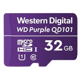 Western Digital Purple Surveillance microSD Card - 32 GB - WDD032G1P0C