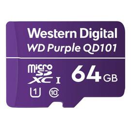Western Digital Purple Surveillance microSD Card - 64 GB - WDD064G1P0C