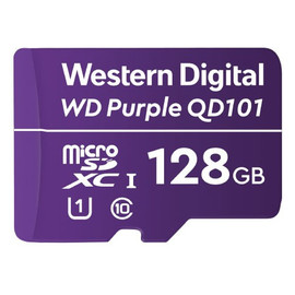 Western Digital Purple Surveillance microSD Card - 128 GB - WDD128G1P0C