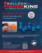 Balloon Fisher King Balloon Clip Pack - 858650004127