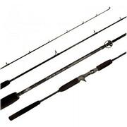 Tsunami Trophy Slow Pitch Boat Spin Jigging Rod - 799967471847