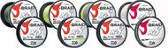 Daiwa J-Braid x8 Braided Line - 043178132050