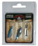 Buccaneer Snapper Bluefish 3 Pack Lure Kit - 799967430257