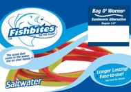 Fishbites Bag O' Worms Longer Lasting Sandworm Alternative - 838380001115