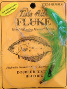 Tide Rite R568 Hi-lo Wide Gap Hook W/ Bucktail Fluke Rig - 050209032791