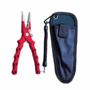 No1 Aluminum Fishing Pliers - Needle Nose With Finger Stop - 469002046568