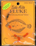 Tide Rite R562 Hi-Lo Wide Gap Hook with Bead Fluke Rig - 050209032784