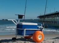 Fish-N-Mate 303 Jr Beach Cart W/ Poly Wheels - 692285000303