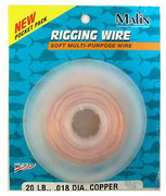 Malin Soft Copper Rigging Wire In Dispenser - 092414902452