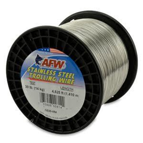 AFW Stainless Steel Wire 5-lb Service Spool - 035926008342