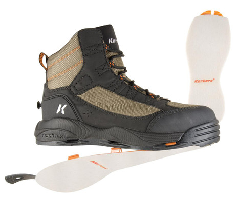 Korkers Greenback Wading Boot - 096351996048