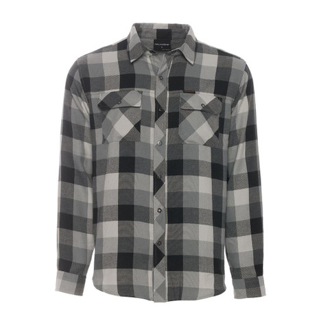 Grundens Cordova Long Sleeve Flannel Shirt - 332525218265