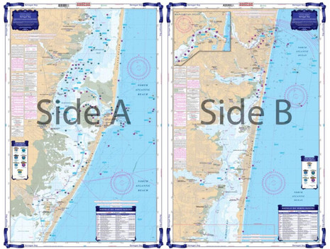 Waterproof charts ic inshore and offshore nautical charts
