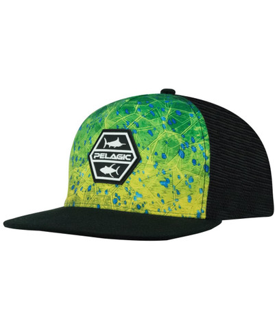 Pelagic Alpha Snapback Fishing Hat - 190015063456