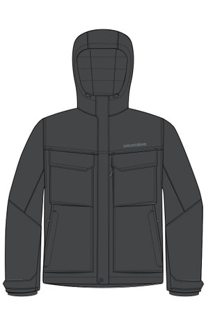 Grundens Weather Boss Insulated Men's Hooded Jacket - 10335-01-0012