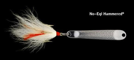 Hopkins No=EQL Hammered Treble W/ Bucktail - 025664000210