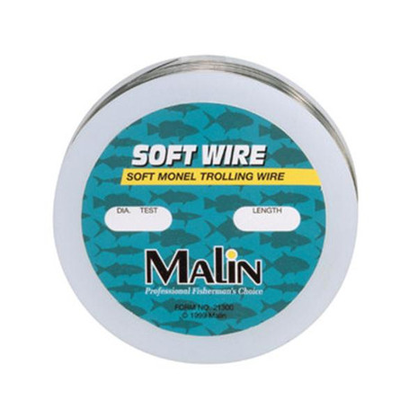 Malin Soft Monel Trolling Wire - 092414223007