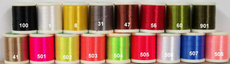 Danville Flat Waxed Nylon Thread - 000012011001