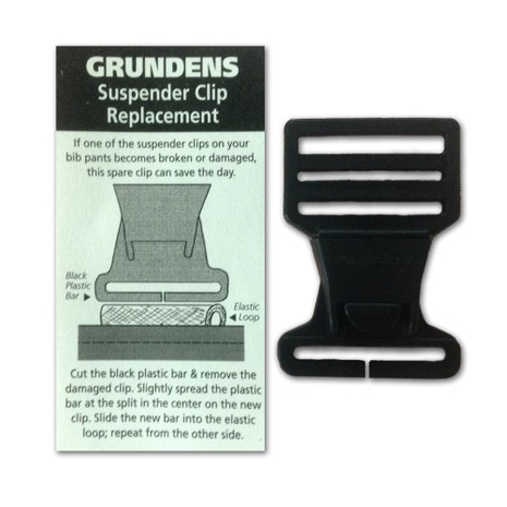 Grundens Suspender Clip Replacement - 331899285187