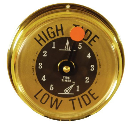 Tide Clock Brass Tide Timer - 000097000044