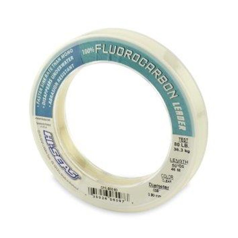Hi-Seas Clear 100% Fluorocarbon Leader - 03592607604