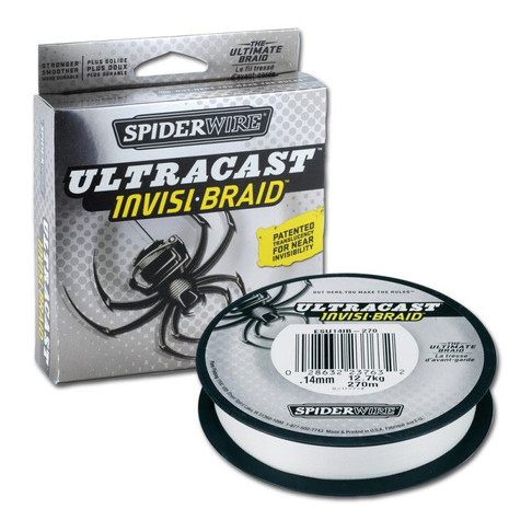 Spiderwire Ultracast Invisi-Braid Braided Line - 02202160024