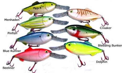 "Mann's Stretch Imitator Jr 8"" Lure - 04707915551"