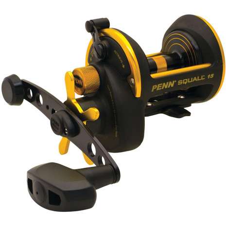 Penn Squall Star Drag Conventional Reels - 031324203129
