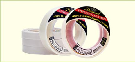 Diamond Presentation Fluorocarbon Leader Line - 695699871200