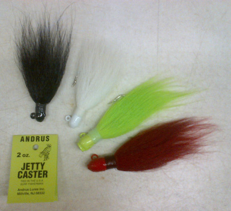 Andrus Jetty Caster Bucktail - 000032610017