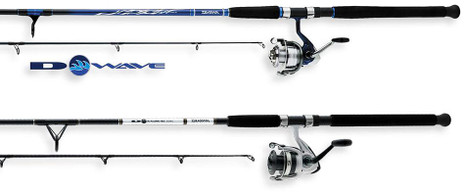 Daiwa D-Wave Saltwater Spinning Combo - 043178958711