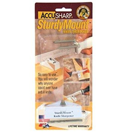Accusharp Sturdy Mount Knife Sharpener - 015896000041