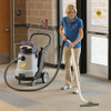 The long hose lets your clean large areas with the ProGuard 15 wet/dry vacuum.