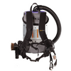 Adjustable backpack harness balances the vacuum and is comfortable for using for long periods.