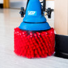 The baseboard brush works with the standard MotorScrubber and the MotorScrubber Jet.
