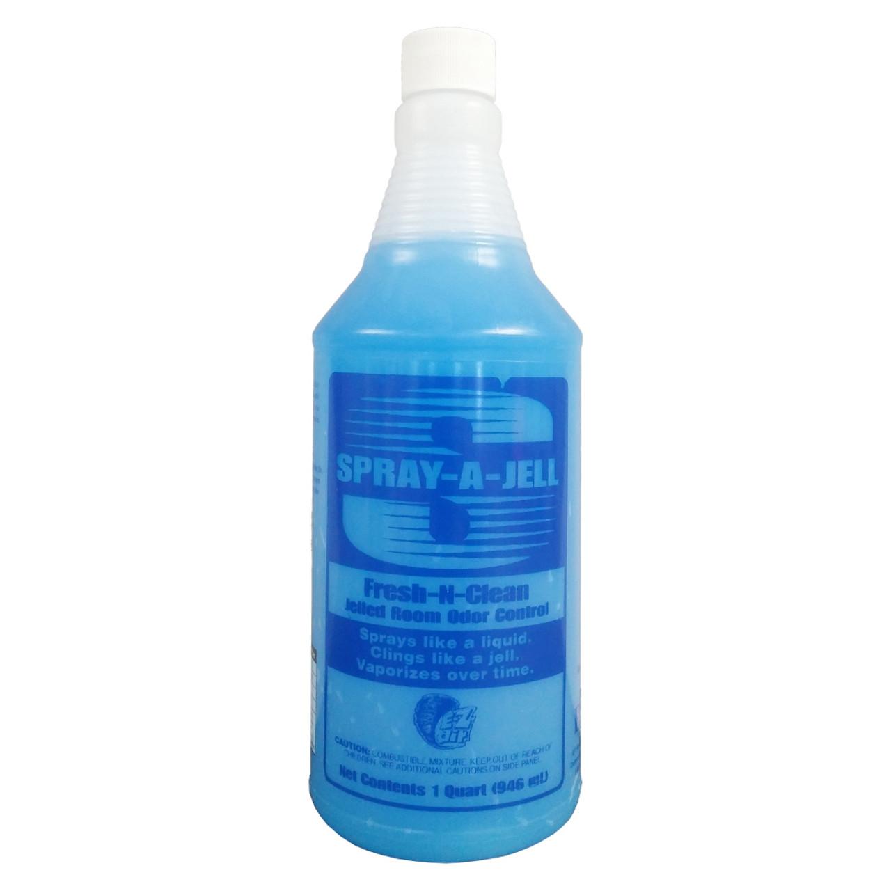 Sprays like a liquid, clings like a gel.  Long lasting fragrance.