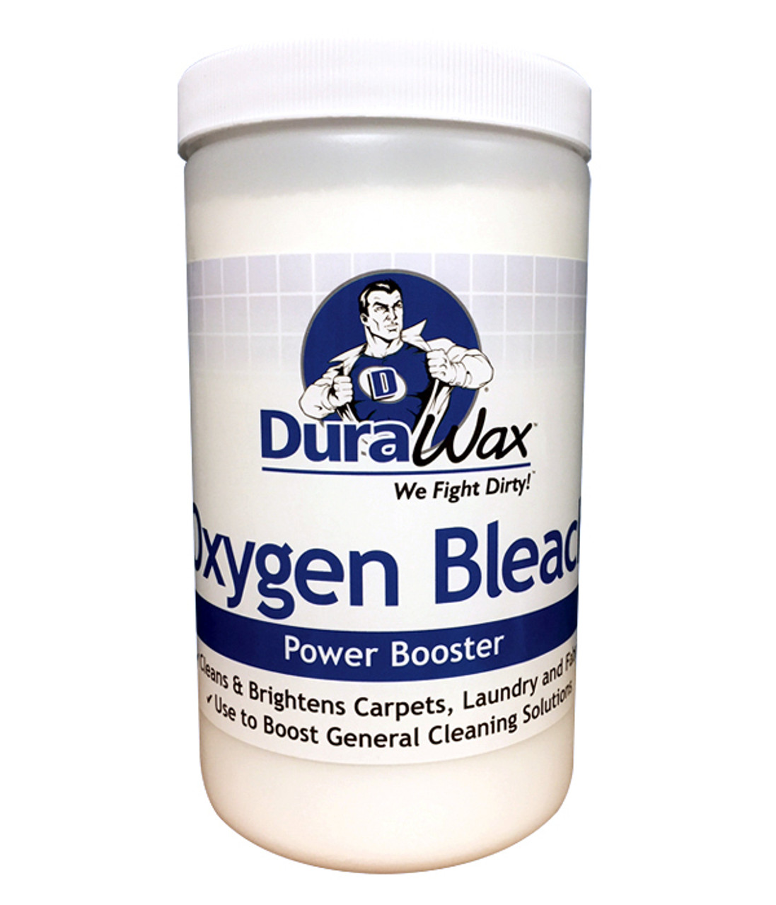 A safe alternative to chlorine - oxygenated bleach eliminates the odor and danger of chlorine bleach.