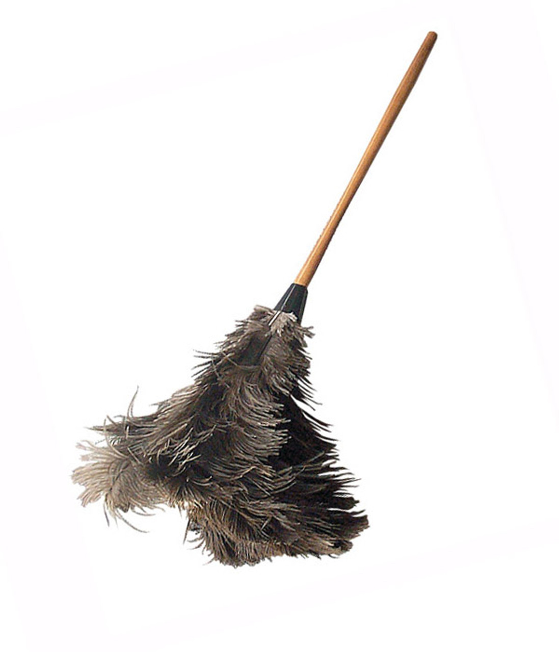 Ostrich Feather Dusters attract dust like magnets.  Comes in a small retractable, medium and large sizes.