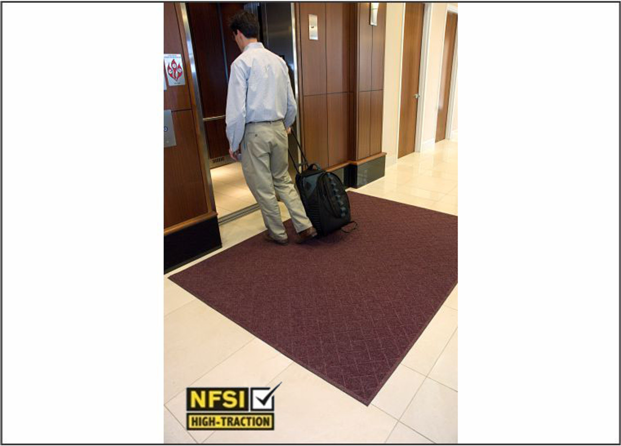 Certified Slip Resistant by the Nation Floor Safety Institute.