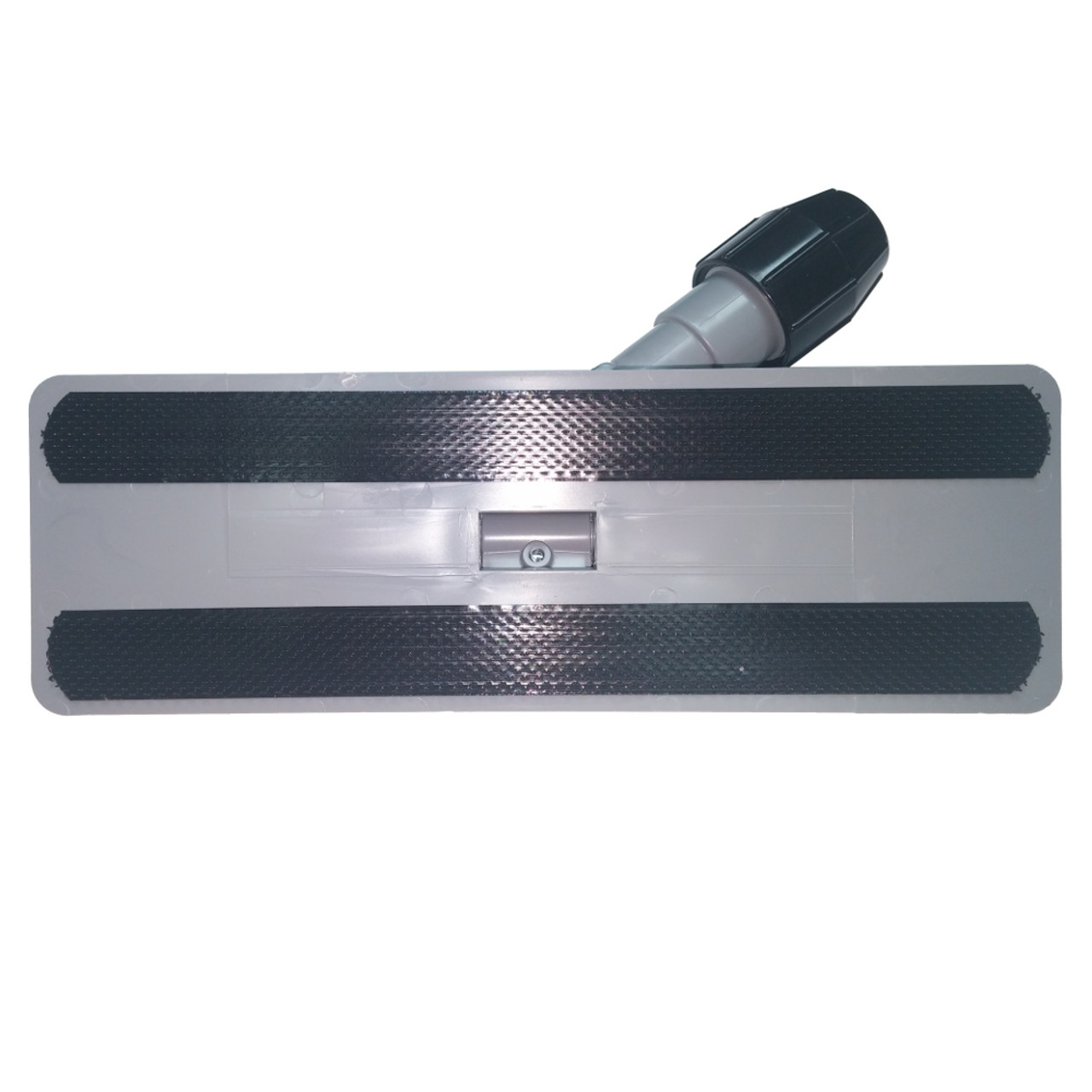 Pad holder features two strong velcro strips to hold pad securely.