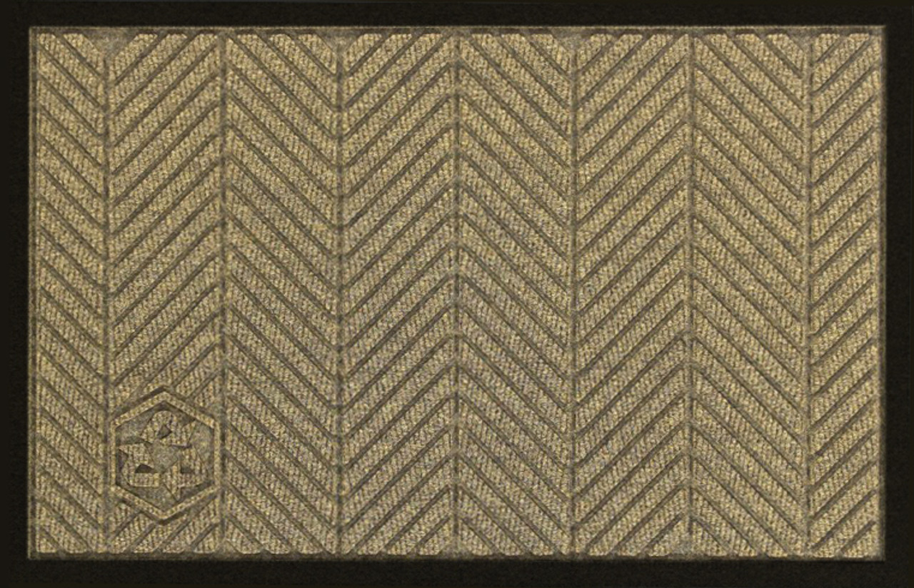 Eco Elite Floor Mats have a Rubber Border that Keeps Water, Dirt and Grime in the Mat where it Belongs.