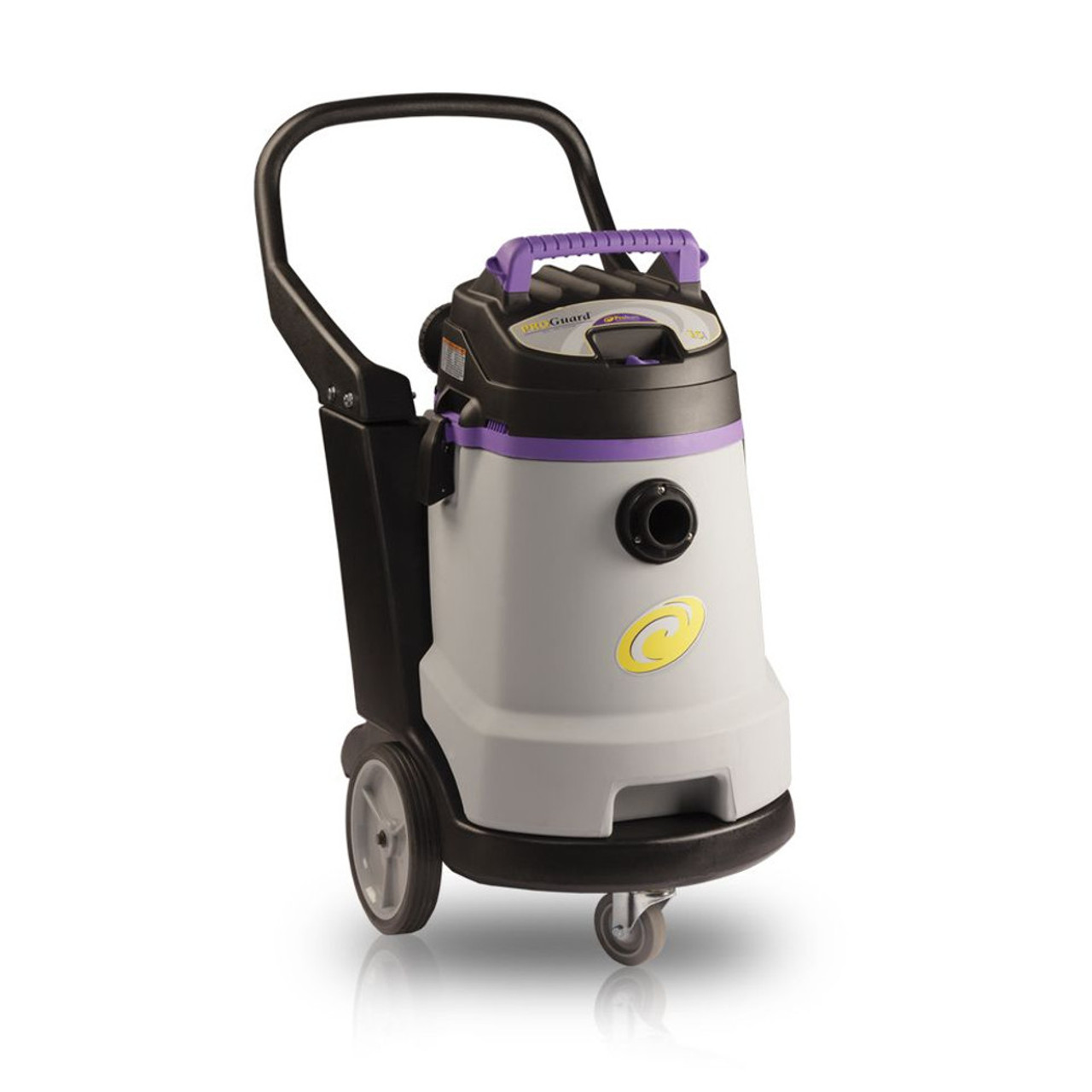 The compact size and wheel configuration make the ProGuard 15 one of the most maneuverable wet/dry vacs on the market.