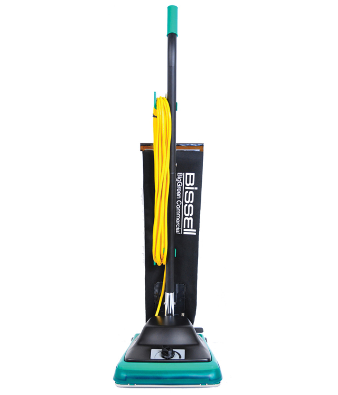 Bissell ProTough Upright Commercial Vacuum Model BG100 has a 6 position carpet height adjustment and long 50 ft. cord.