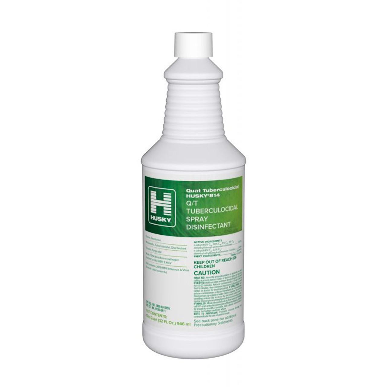 Husky 814 Q/T Tuberculocidal Spray Disinfectant Kills the dreaded Norovirus!
