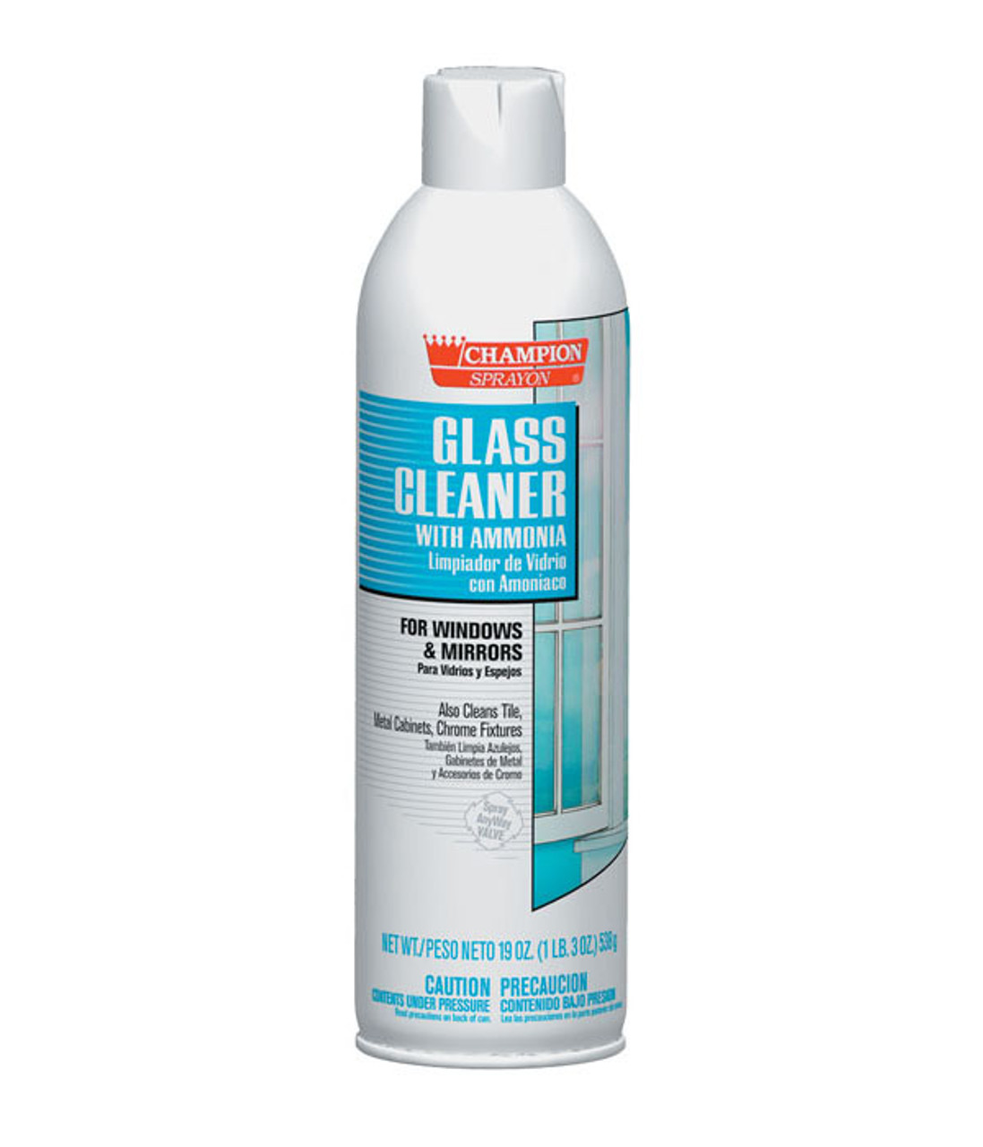 Champion 5151 Foaming Glass Cleaner with Ammonia