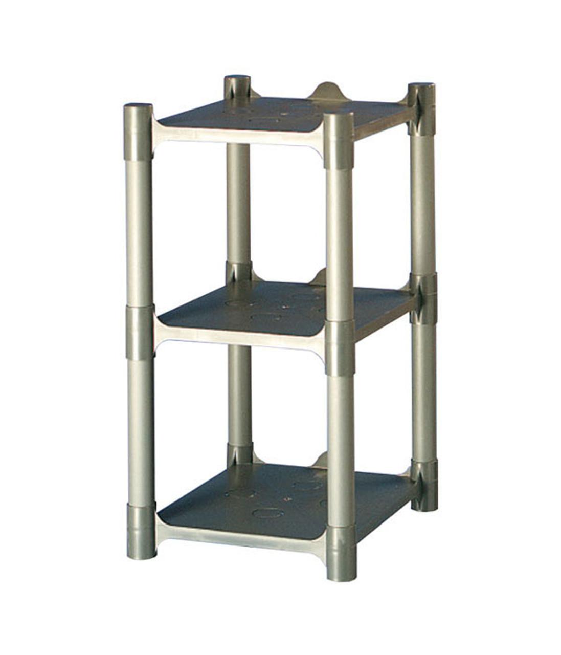 3 Shelf Plastic Storage Rack