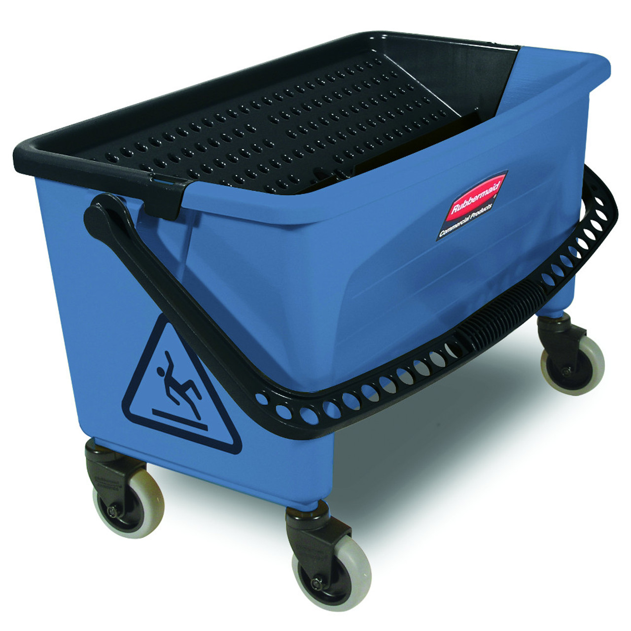 Rubbermaid Q930 Microfiber Finish Bucket with Lid