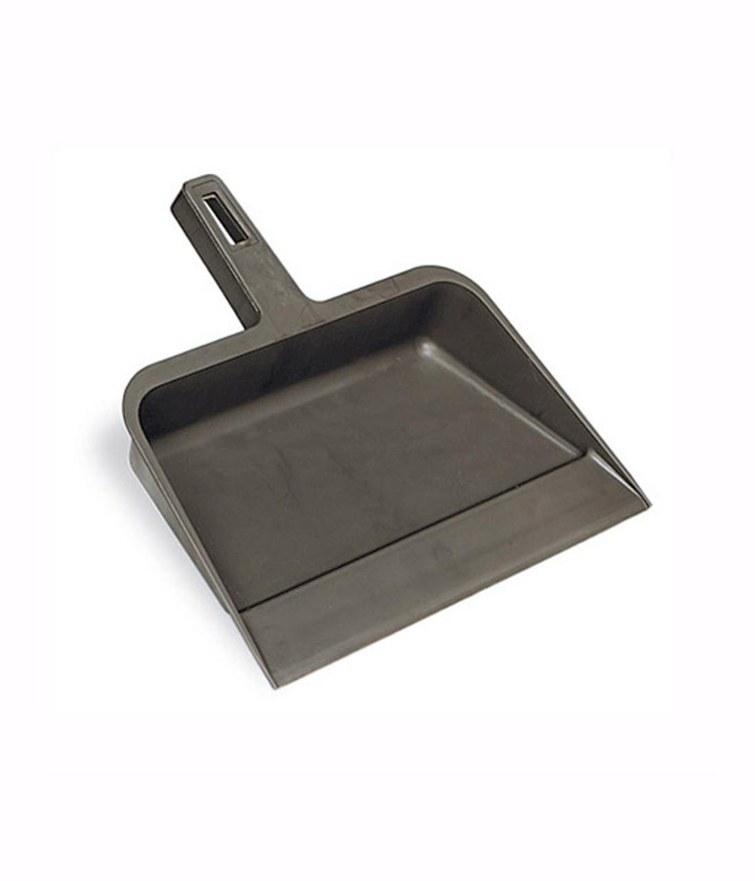 Rugged plastic saves money vs metal dust pans.