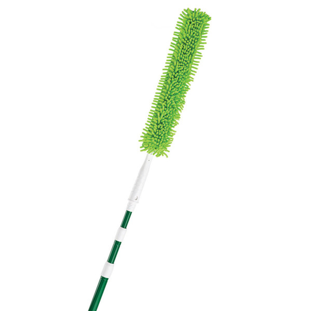 The Libman 94 Duster Extends up to 5 ft and has a flexible head that allows you to get around objects and into spaces other dusters can't.