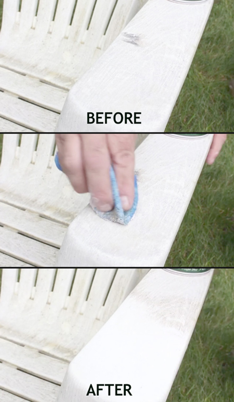 So many uses for A-ben-a-qui, including dirty patio furniture.